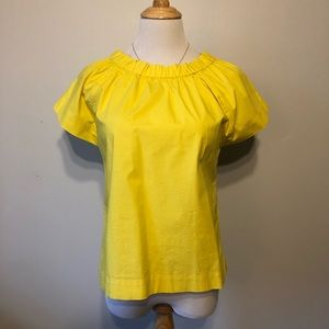 KATE SPADE ♠️ Yellow Short Sleeved Top-Size XS